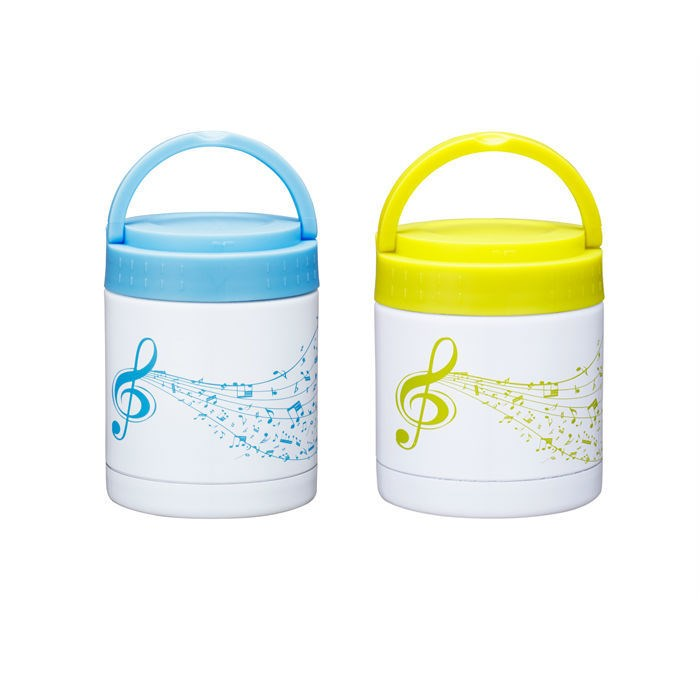 Portable 400 ml double wall stainless steel food jar thermos food jar for baby children