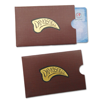 Printing Custom Promotional Gift Card Holder Card Sleeves