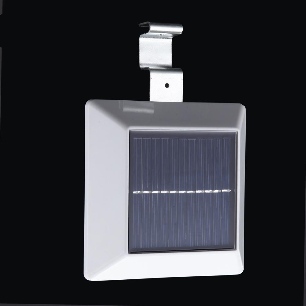 Light Sensor Garage Lights: 4 LED Solar Powered Outdoor Light & Lamp With PIR Motion