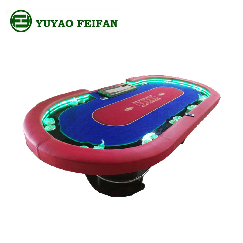 New Design Mdf Led Poker Table For 10 Players Buy Led Poker Tables Electronic Poker Table 10 Person Poker Table Product On Alibaba Com
