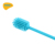 2020  best sell reusable silicone bottle brush with long handle for infant water bottle washing