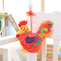 New Cock Plush Toys Soft Stuffed Animals Rooster Cock Doll Toy For Children Mascot Chinese Zodiac