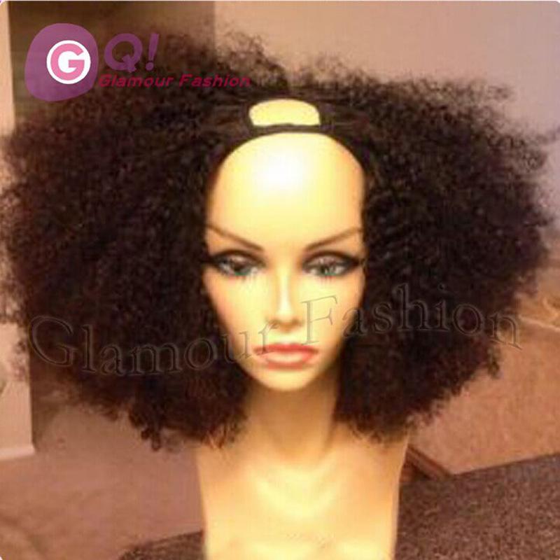 2016 Best Quality Black Women Human Hair Wigs Virgin