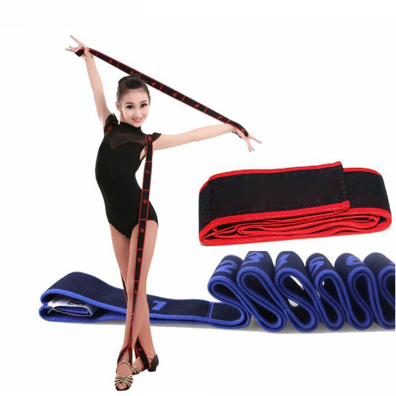 Pilates Yoga Stretch Resistance Band Gymnastics Exercise Fitness Elastic Ropes