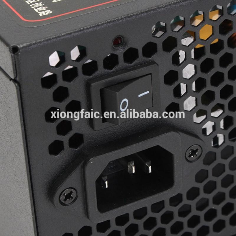High Efficiency ETH Mining Power Supply 1600W For ATX Mining Machine Support 6 GPU RX 470 480 RX 570 Graphics Card Mining PSU