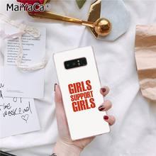 MaiYaCa эстетика Минимальная девушка мощность Feminist DIY чехол для телефона с рисунком для Samsung Galaxy S7 S6 edge plus S5 S9 S8 plus чехол(Китай)
