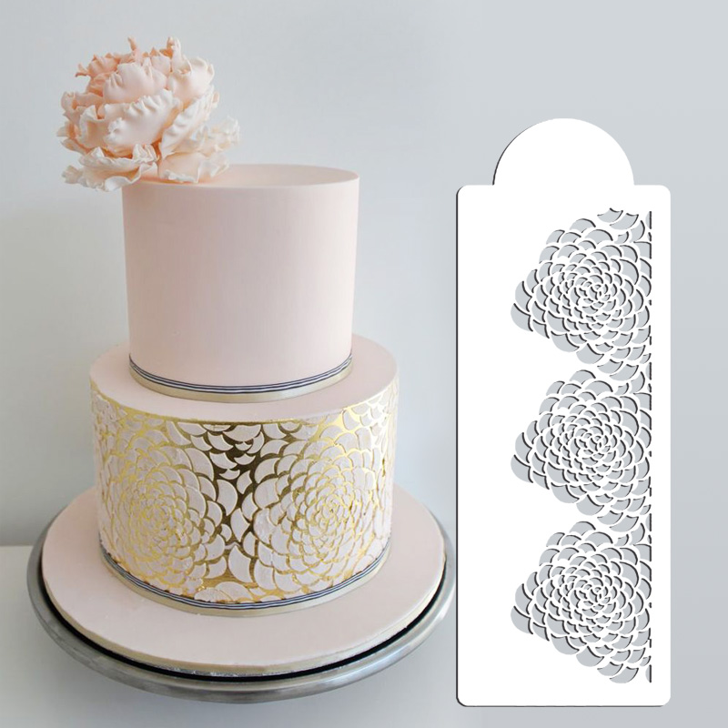 camilla rose stencil set 3 tier cake stencil wedding cake decorating stencil stencils for. Black Bedroom Furniture Sets. Home Design Ideas