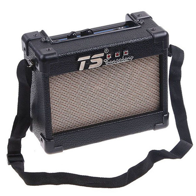 portable mini stereo electric guitar amp amplifier acoustic bass guitar accessories with speaker. Black Bedroom Furniture Sets. Home Design Ideas