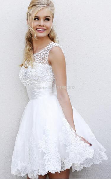 bc9c0c3e9f vestido de fiesta blanco corto