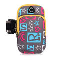 Outdoor Sports Arm Bag Mobile Phone Arm Bag Waterproof Double deck Pocket Fit 5 2 6