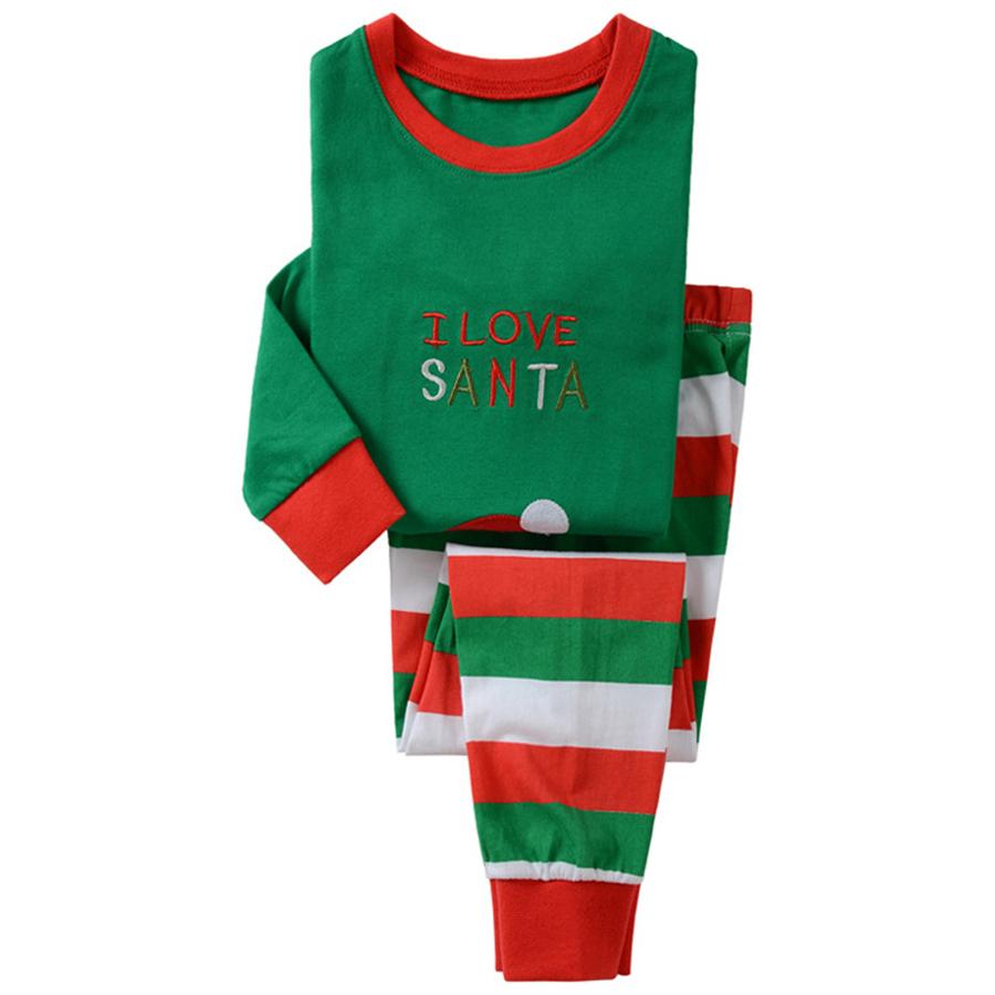 kid with striped pajamas