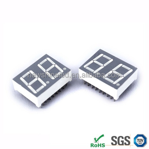 0.43 inch Common anode led 7 segment led display 2 digits 7 segment display seven segment display for advertising show
