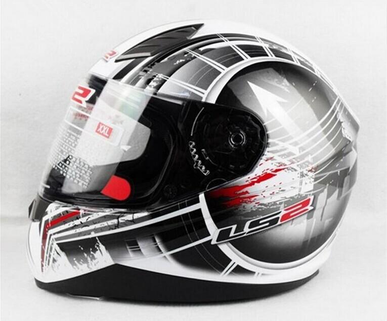 2015 genuine ls2 motorcycle helmet full helmet run ff384. Black Bedroom Furniture Sets. Home Design Ideas