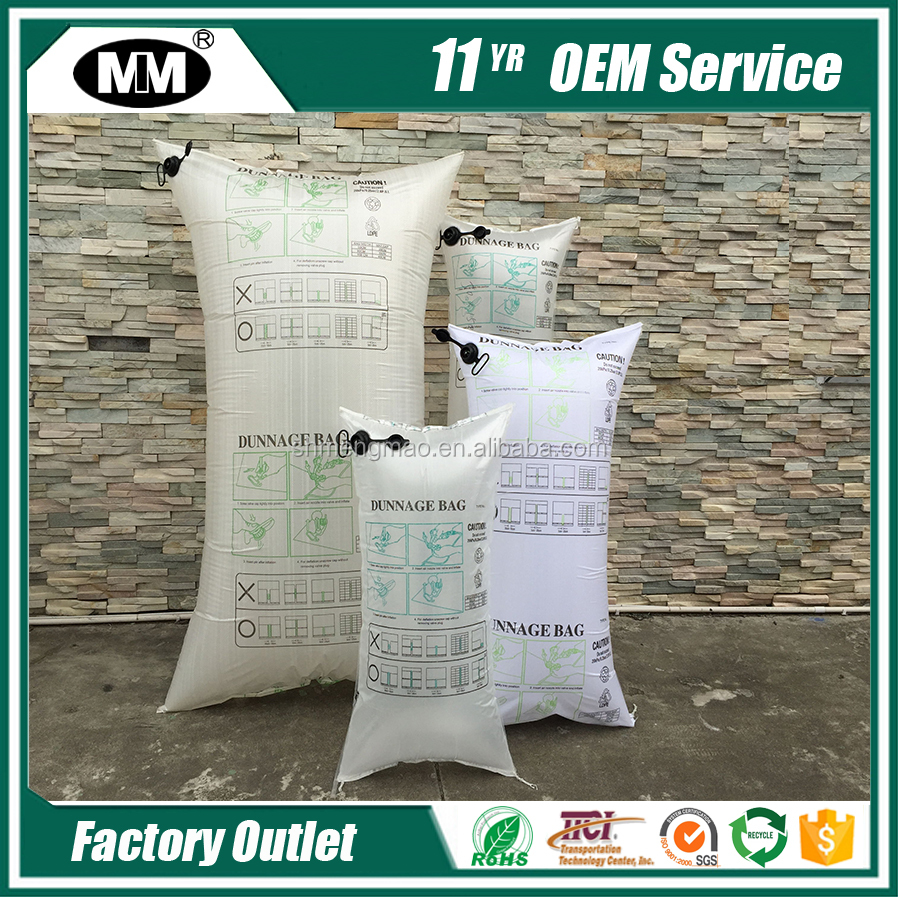 Inflatable Dunnage Bag For Container Loading