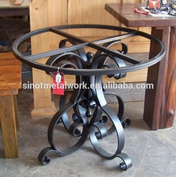 Small Metal Coffee Table Base For Glass And Stone Pedestal Wrought Iron Table Base Buy Table Bases For Glass Tables Wrought Iron Coffee Table Base Stone Pedestal Table Base Product On Alibaba Com