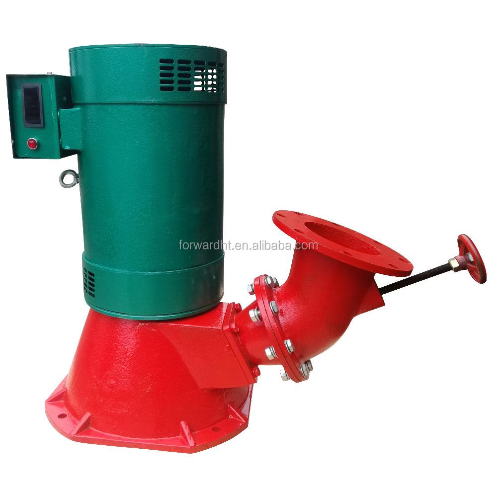Бесщеточный индукционный турбинный генератор с одним соплом, 15 кВт, Турбинный генератор с малой подачей воды, Турбинный генератор для домашнего использования