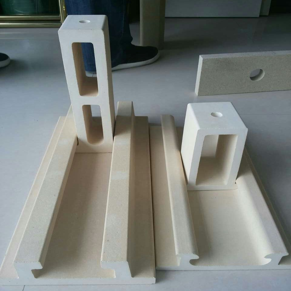 Refractory Cordierite Mullite Batts, Rail, Crank As Kiln Shelves