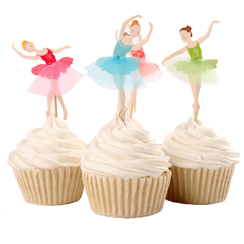Ballet Birthday Cake Toppers
