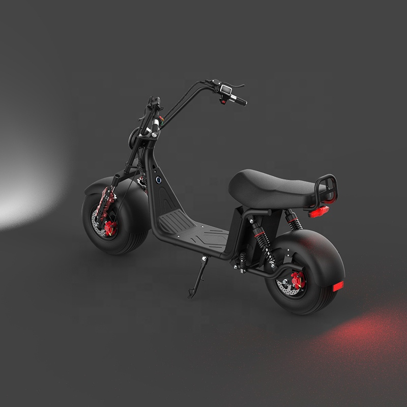 High-Performance 2 Wheel Popular 2000W Electric Scooter With Rear Light