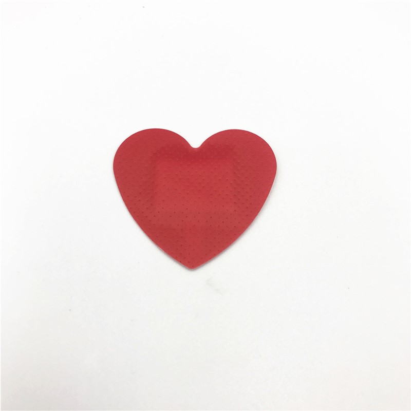 New Products Medical Heart Shape Color Custom Bandaid