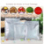 wholesale aluminum foil flat type package plastic ziplock bag