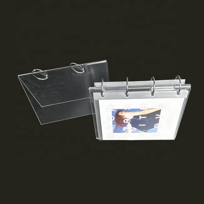 Пластиковая оправа держатель изготовленный на заказ столешница Офисного Стола Настольная подставка акриловые Настольный календарь