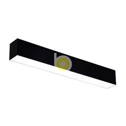 Алюминиевый светодиодный профильный светильник, офисные соединяемые люстры, Подвесной Настенный потолочный светодиодный линейный светильник