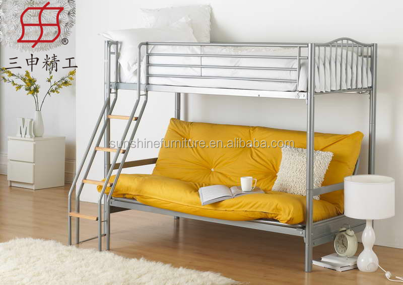 Strong Modern Bunk Bed With Foldable Sofa Folding Sofa Metal Bunk Bed Buy Bunk Bed With Sofa Bunk Bed With Foldable Sofa Folding Sofa Metal Bunk Bed Product On Alibaba Com