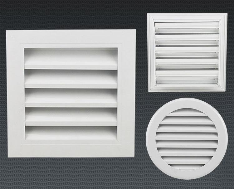 Ventilation External Wall Air Vent Aluminum Louver Frame