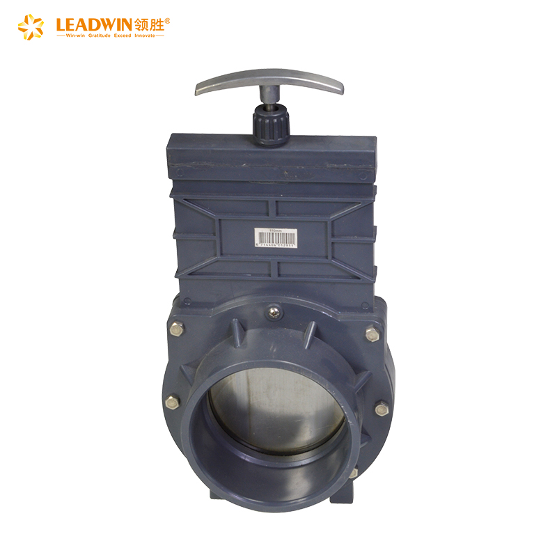Cheaper First Choice 2 6 4 8 12 inch flange plastic upvc pvc water knife gate valve