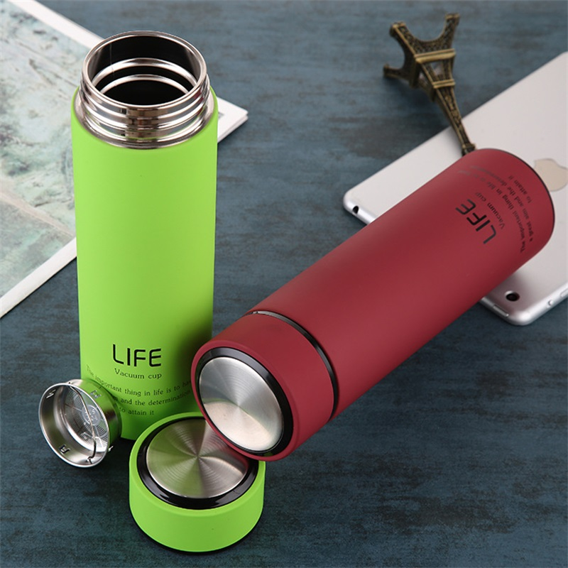 Thermal Cup Coffee Mug Stainless Steel Thermos Vacuum Flask Home Water Bottle