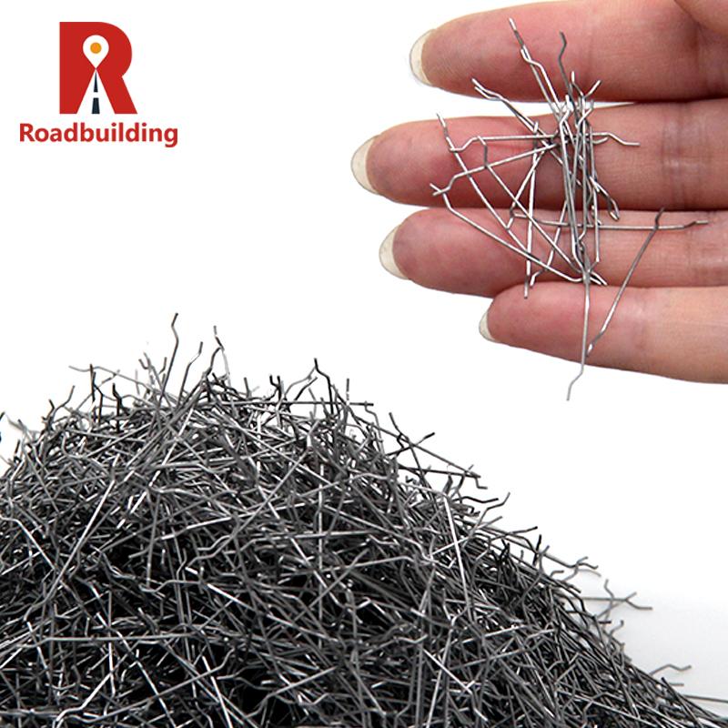 Новый продукт, Высокопрочное волокно с крючком, бетонное Стальное волокно