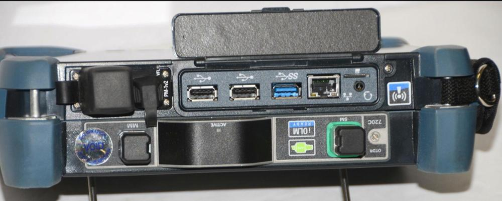 EXFO FTB-500 OTDR W/ftb 7400B SM Module ftb 500 in Pelican Custodia