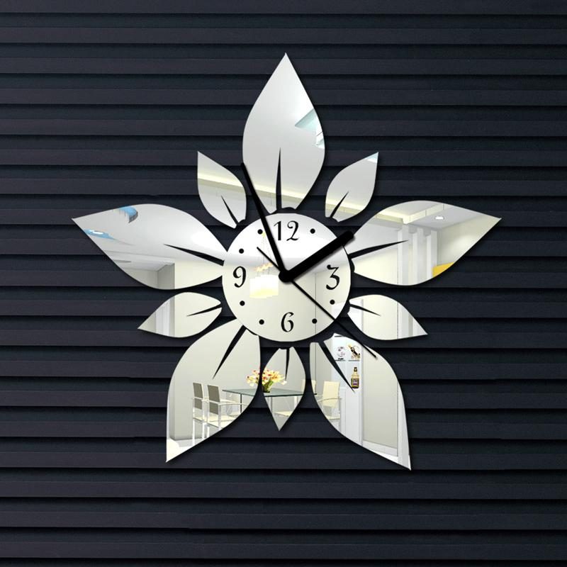 2015 new decorative mirror large wall clock contemporary ...
