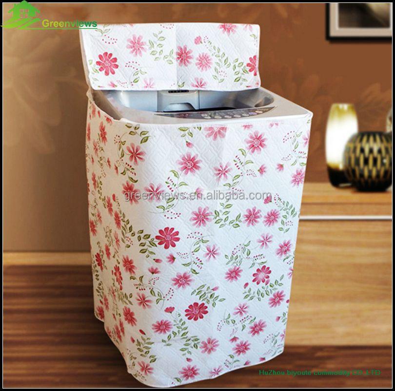 Sale waterproof washing machine fabric cover polyester wash cover washing machine safety cover