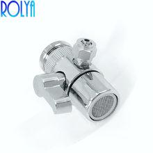 ROLYA оптовая продажа 1/4 ''смеситель для бассейна Носик кухонного крана переключатель для Ro фильтр для воды переключатель клапан питьевой воды...(Китай)