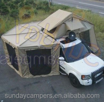 Outdoor camping easy folding tiny houses car tent