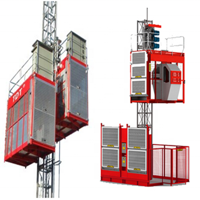 Construction Hoist and building lifter with large load capacity