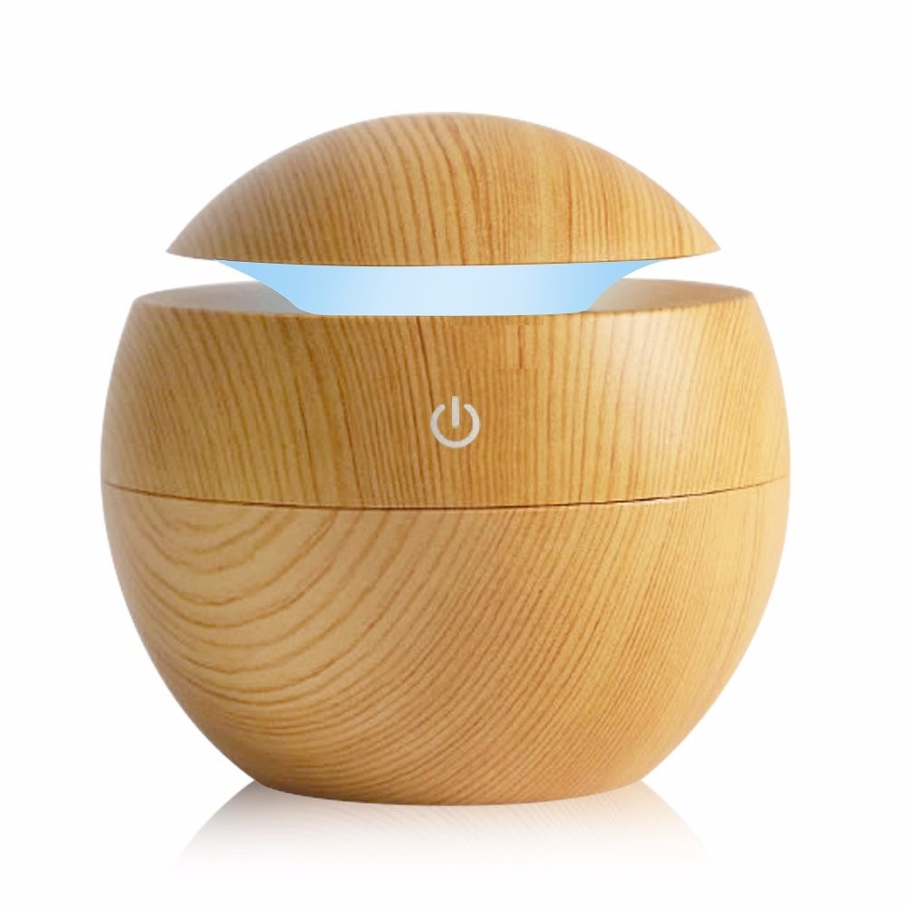 Large Capacity Air Humidifier USB Aroma Diffuser Ultrasonic Cool Office Home LED