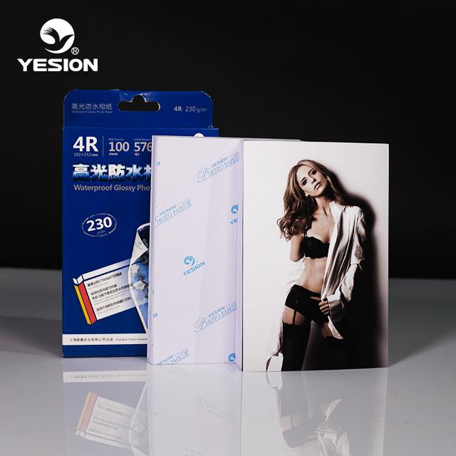Yesion Высококачественная Глянцевая струйная фотобумага a4 115-260gsm