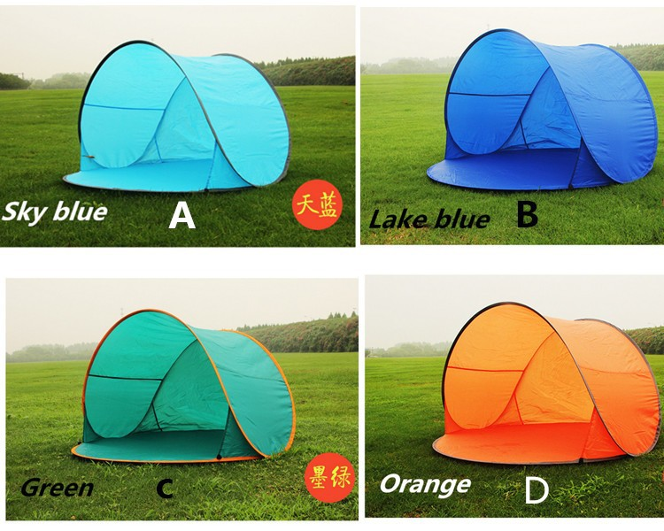 Automatic Pop Up 2 Person Beach Uv Sun Shelter Shade