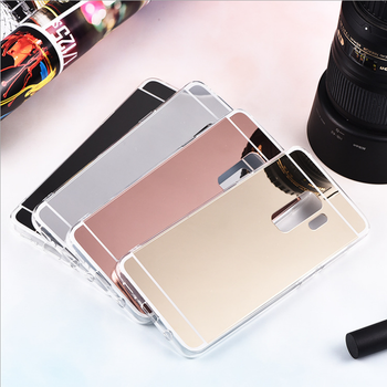 Luxury Plating Soft TPU Smart Mirror Case for Coque Samsung Galaxy S3 S4 S5 S6 S7 S8 S9 S10 Edge Plus Clear Silicone Back Cover