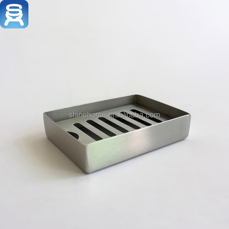 Manufacturers Stainless Steel Hotel Bathroom Free Standing Soap Dish Buy Product On Alibaba Com