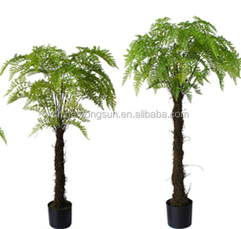 LSD-1222516 Cheap artificial plants artificial fern tree plant large indoor plants for sale