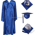 Best quality school uniforms for adults graduation gown disposable university gown
