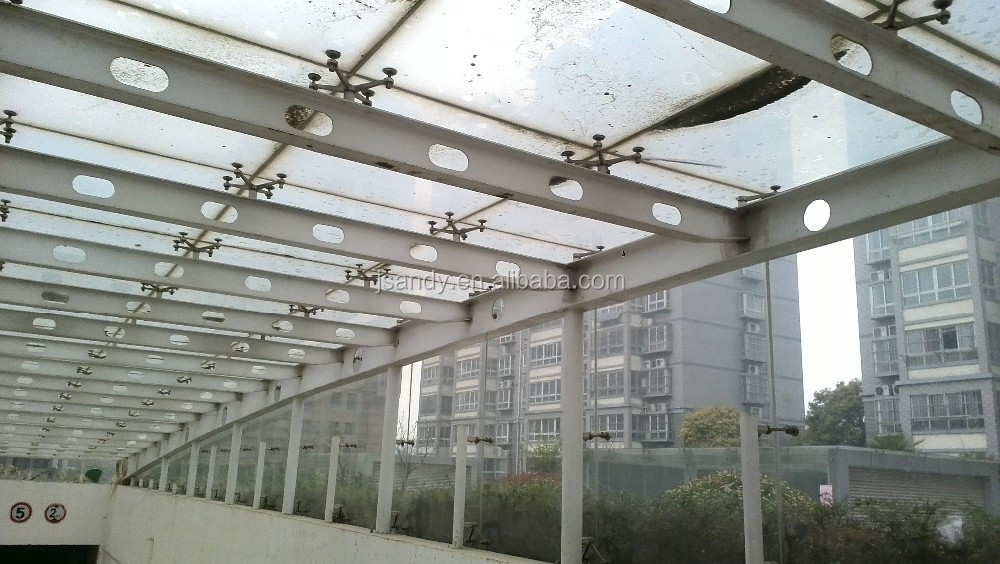 Environmental Cheap Steel Structure Polycarbonate Skylight