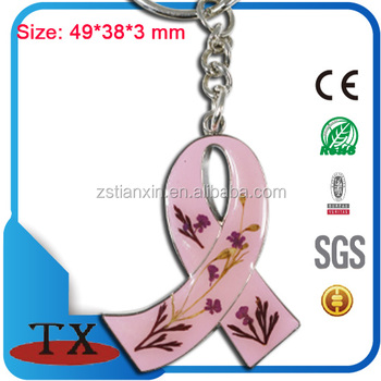Souvenir The Breast Cancer Research Foundation Pink Ribbon Key Chain
