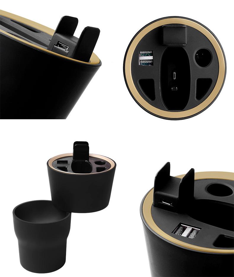 331332 г., Заводская розетка, многофункциональное автомобильное зарядное устройство с USB-проводом для использования с электронной сигаретой IQOS