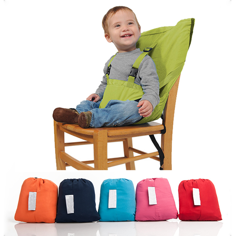 508f7e1beb22 Baby Portable Seat Kids Safety Belt for Feeding Chair