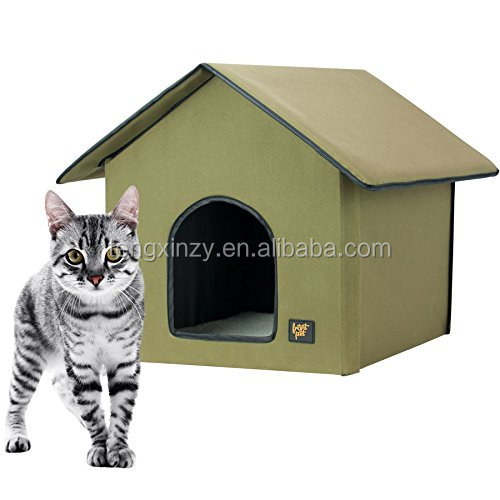 Indoor And Outdoor Heated Kitty House Cat House With Heated Mat Buy Cat House With Heated Mat Heated Kitty House Cat House With Heated Mat Indoor And Outdoor Heated Kitty House Cat House